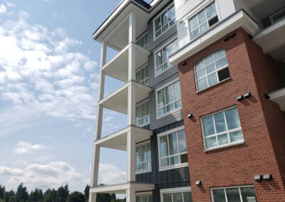 Deck and exterior finishes