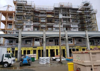 Building A exterior details