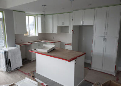 Building A kitchen install
