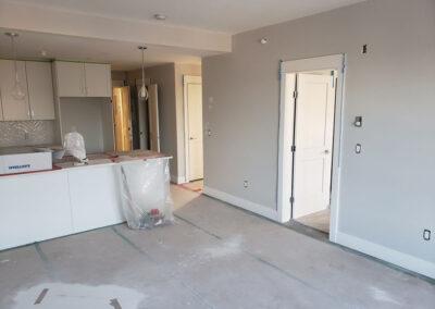 Building A suite paint progress