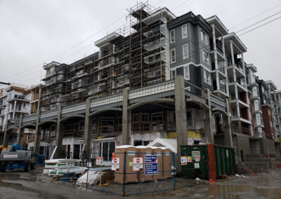 Building A from Kelly Avenue